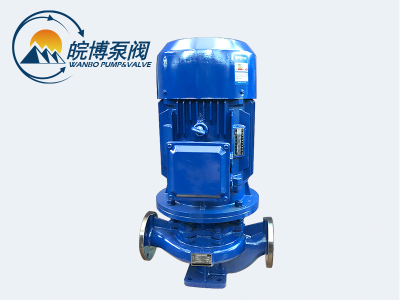 IHG系列不锈钢立式管道泵